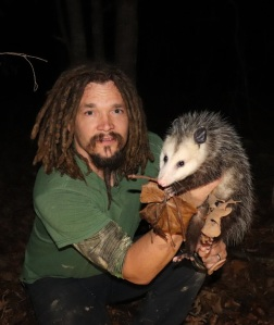 papa pepper wild possum ozark woods